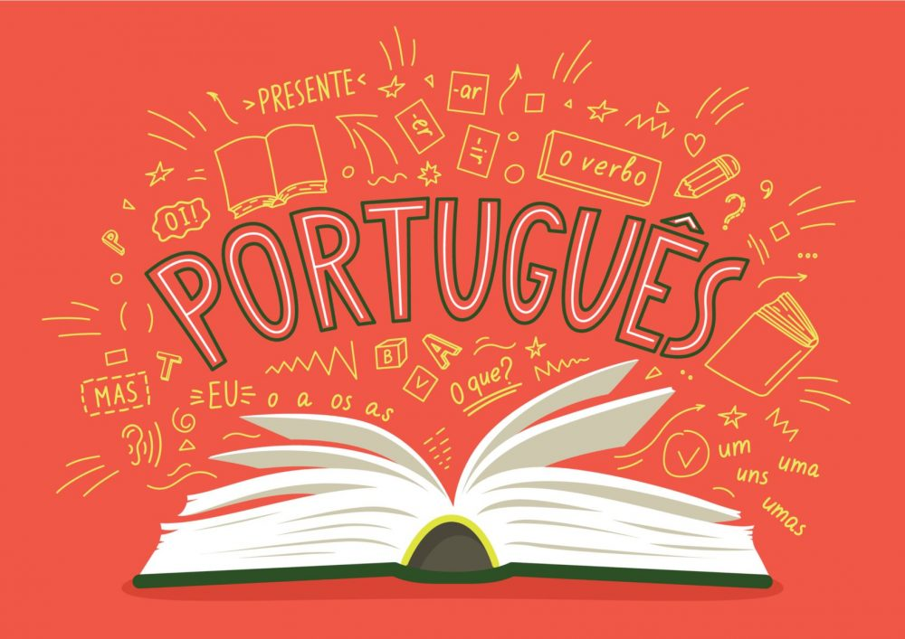 an image of a Portuguese book