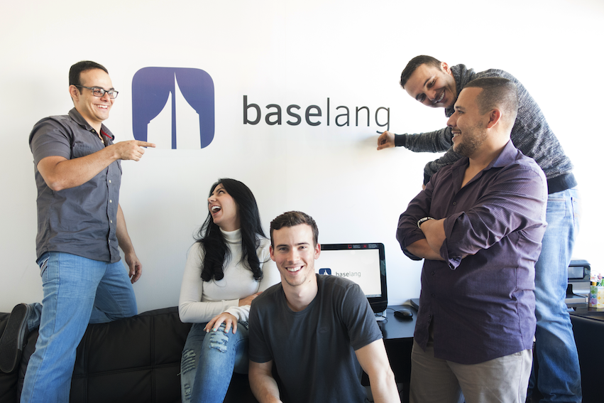 Image of Baselang team