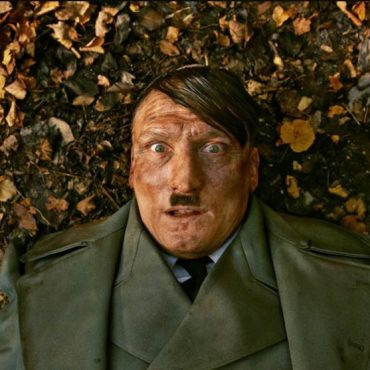 an image of an actor portraying Hitler in a German film
